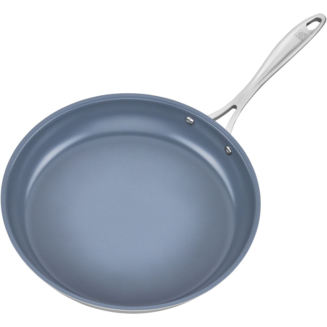 3 Ply, 12-inch, 18/10 Stainless Steel, Ceramic, Frying pan,,large 2