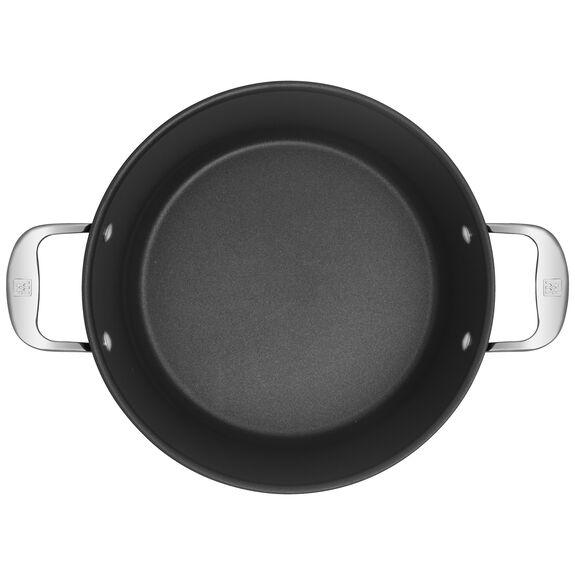 Derin Tencere, 28 cm | Yuvarlak | PTFE | Gümüş-Siyah,,large 2