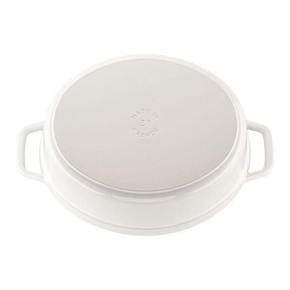 5.75-qt oval Cocotte, White,,large 2