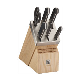 ZWILLING Gourmet, 7-pc, Knife block set