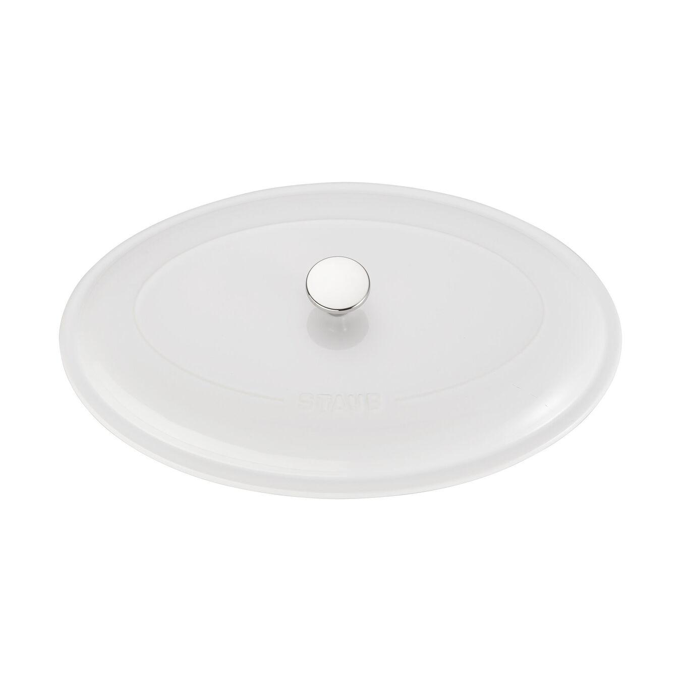 Ceramic Special shape bakeware, white,,large 4