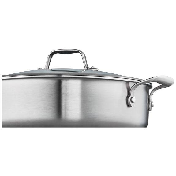 5-qt Ceramic Nonstick Saute Pan, , large 2