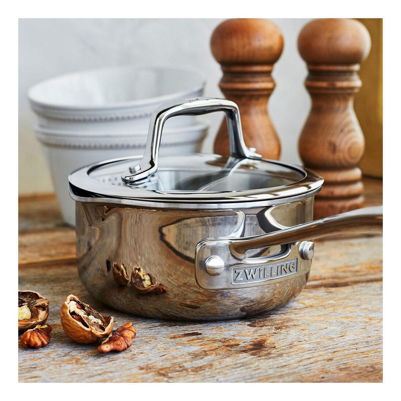 Sauce pan, 18/10 Stainless Steel ,,large 1