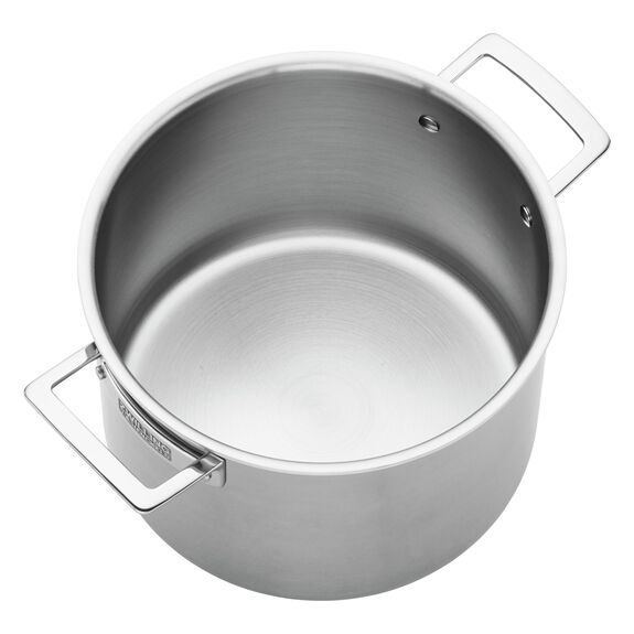 8-qt 18/10 Stainless Steel Stock pot,,large 2