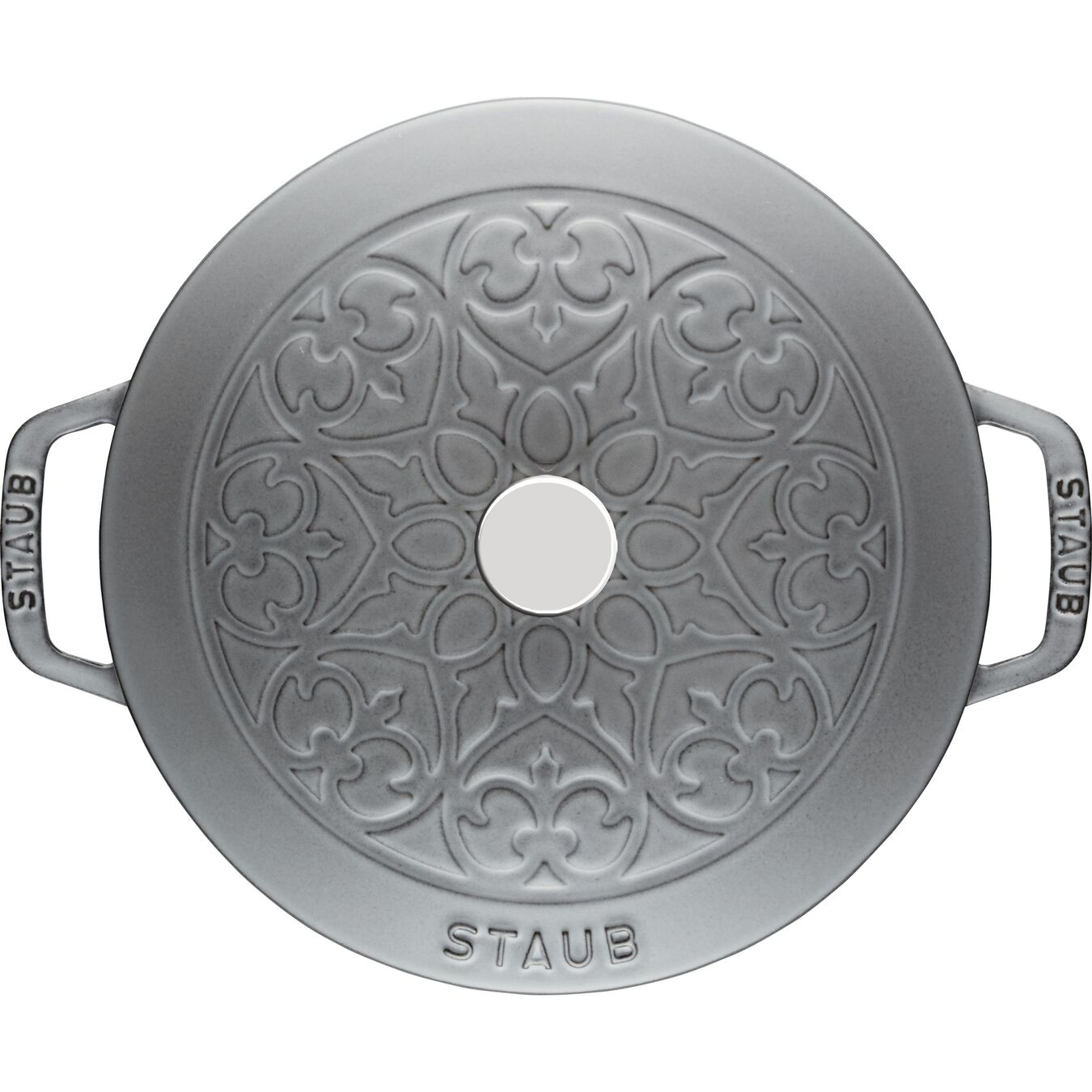 5 l Cast iron round French oven, graphite-grey - Visual Imperfections,,large 2