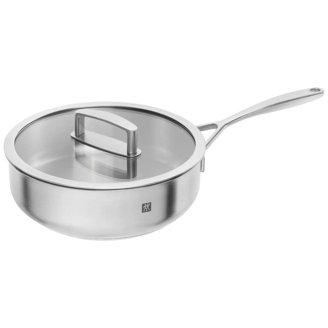 24 cm 18/10 Stainless Steel Saute pan,,large 1