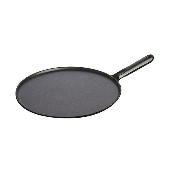 Krep Tavası, 30 cm | Yuvarlak | Sıvı Cam | Siyah,,large 2
