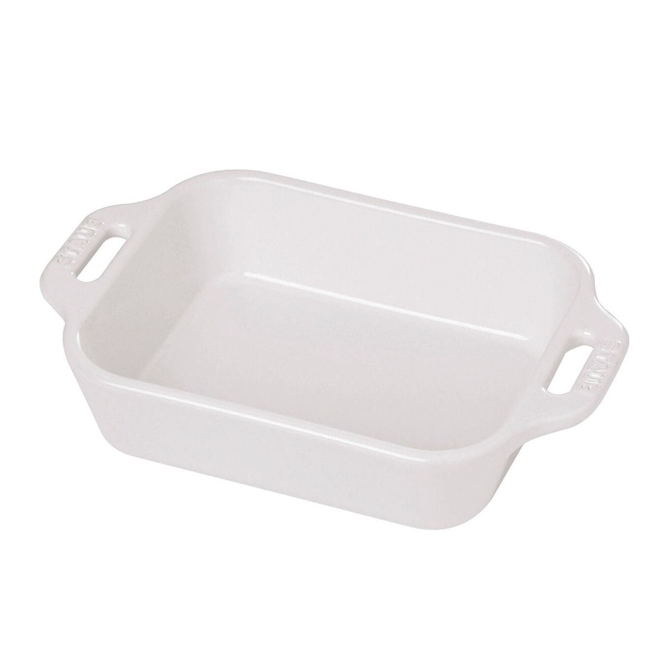 10.5-inch x 7.5-inch Rectangular Baking Dish - White,,large 1