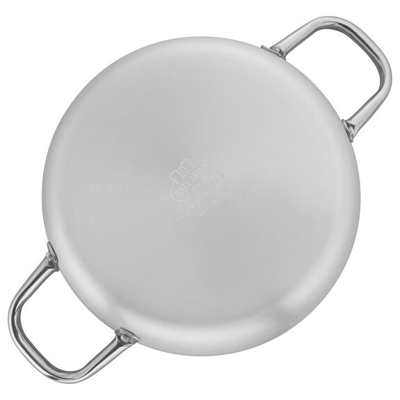 9.5-inch Aluminum Nonstick Braiser Without Lid, , large 3