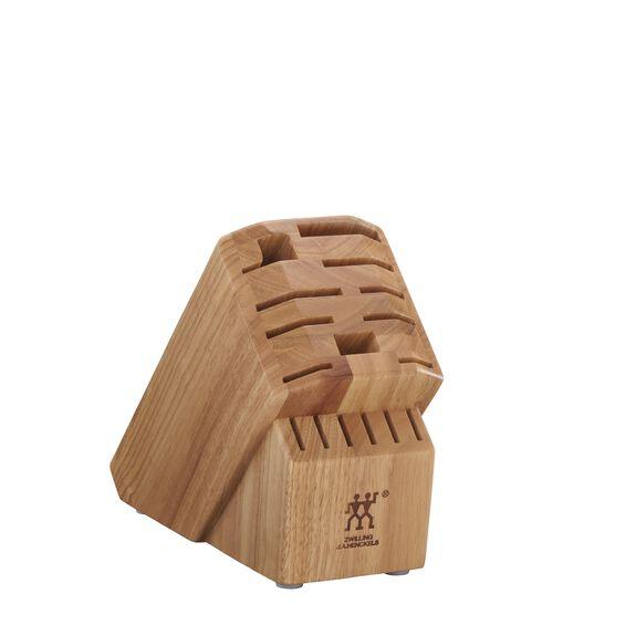Rubberwood Natural 16-slot block,,large
