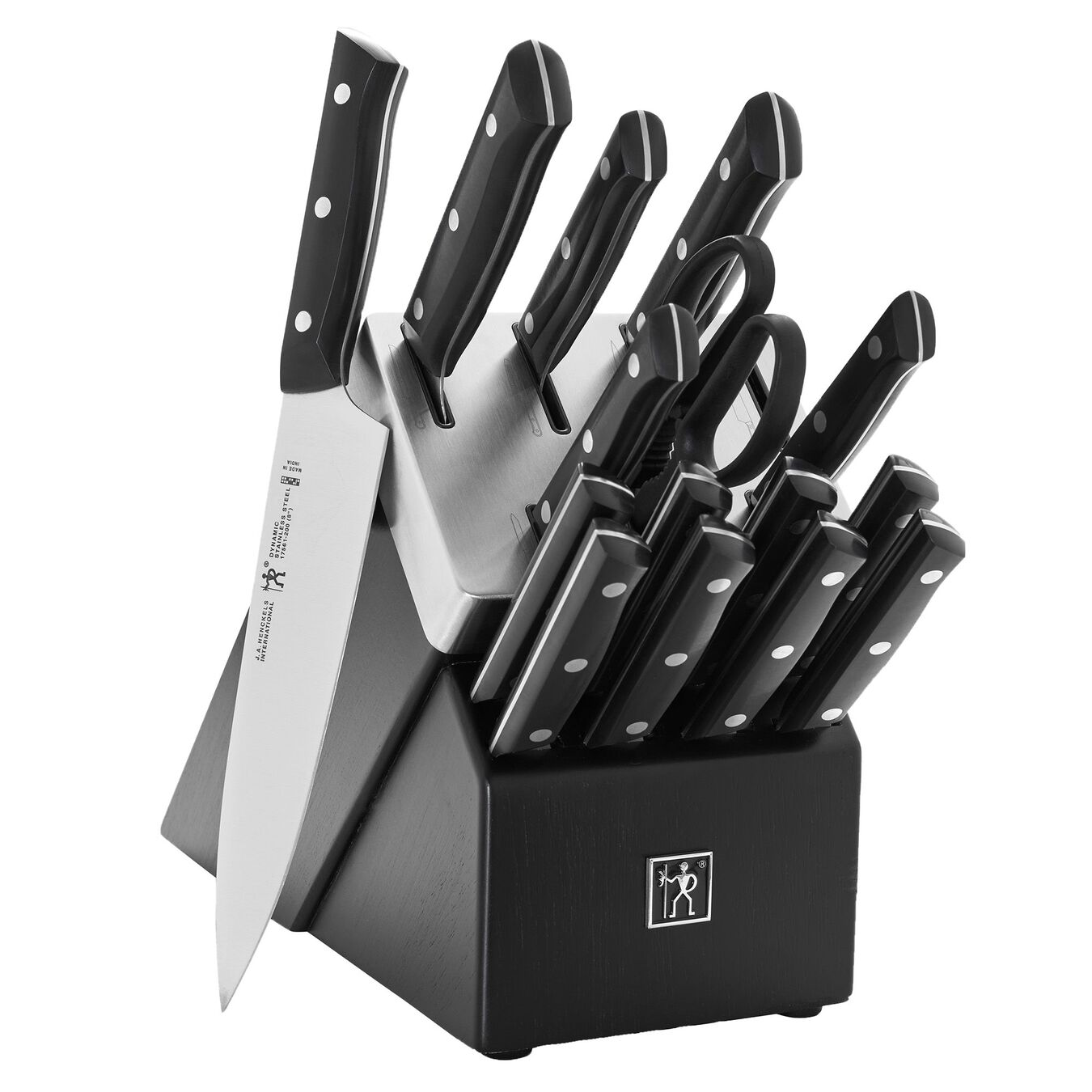 16 Piece Knife block set,,large 1