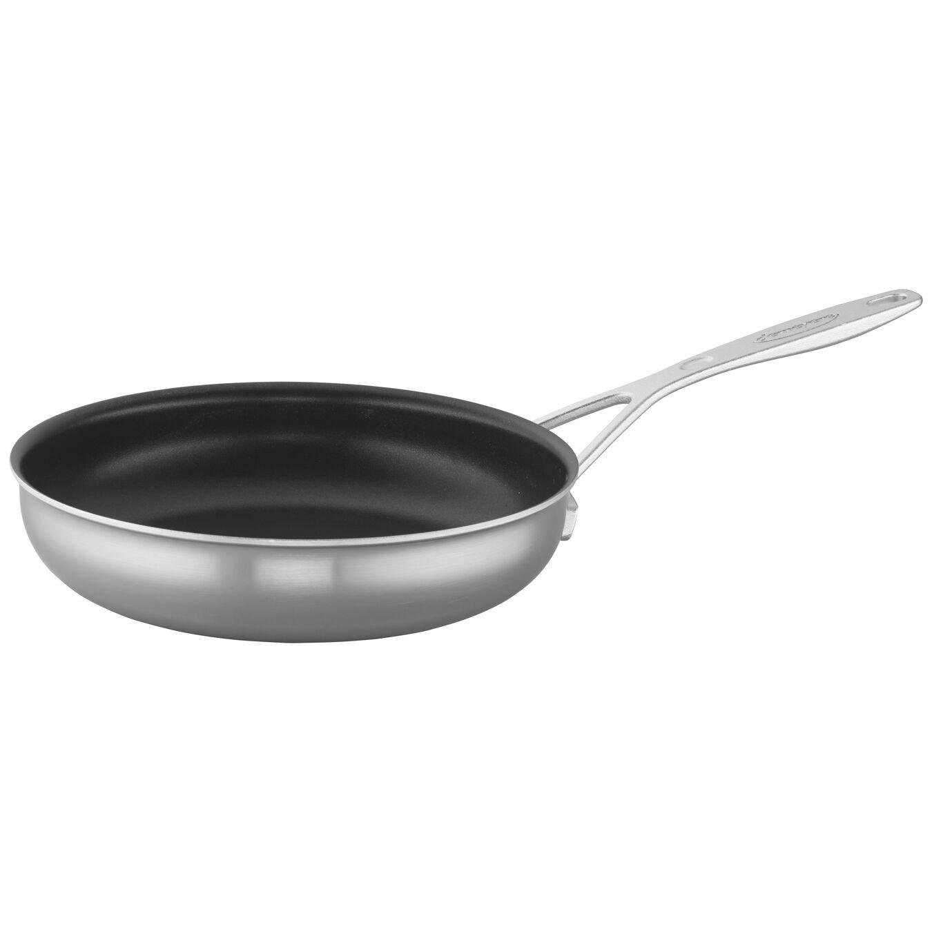 Poêle 24 cm, Inox 18/10, Silver-Black,,large 4