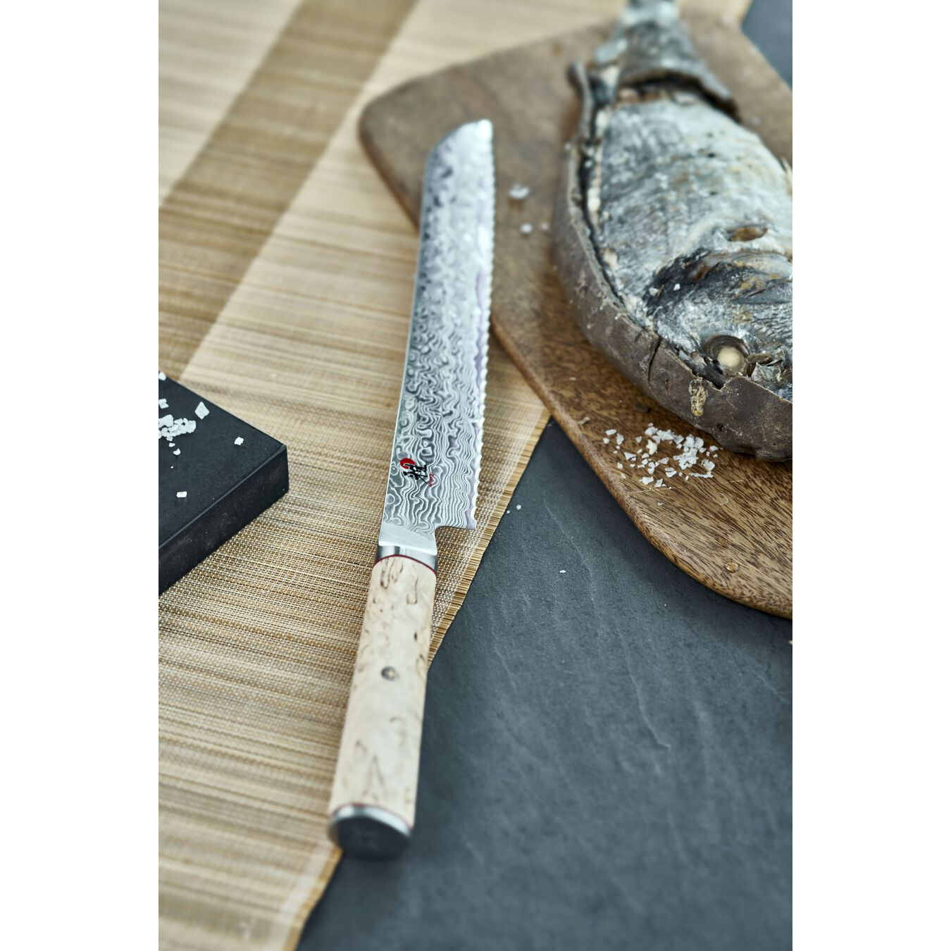 Brotmesser 23 cm, Birke,,large 2