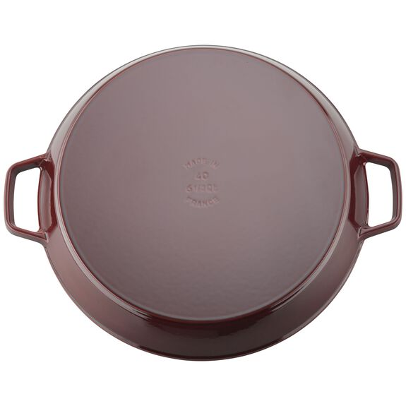 15-inch Double Handle Fry Pan / Paella Pan - Grenadine,,large 3