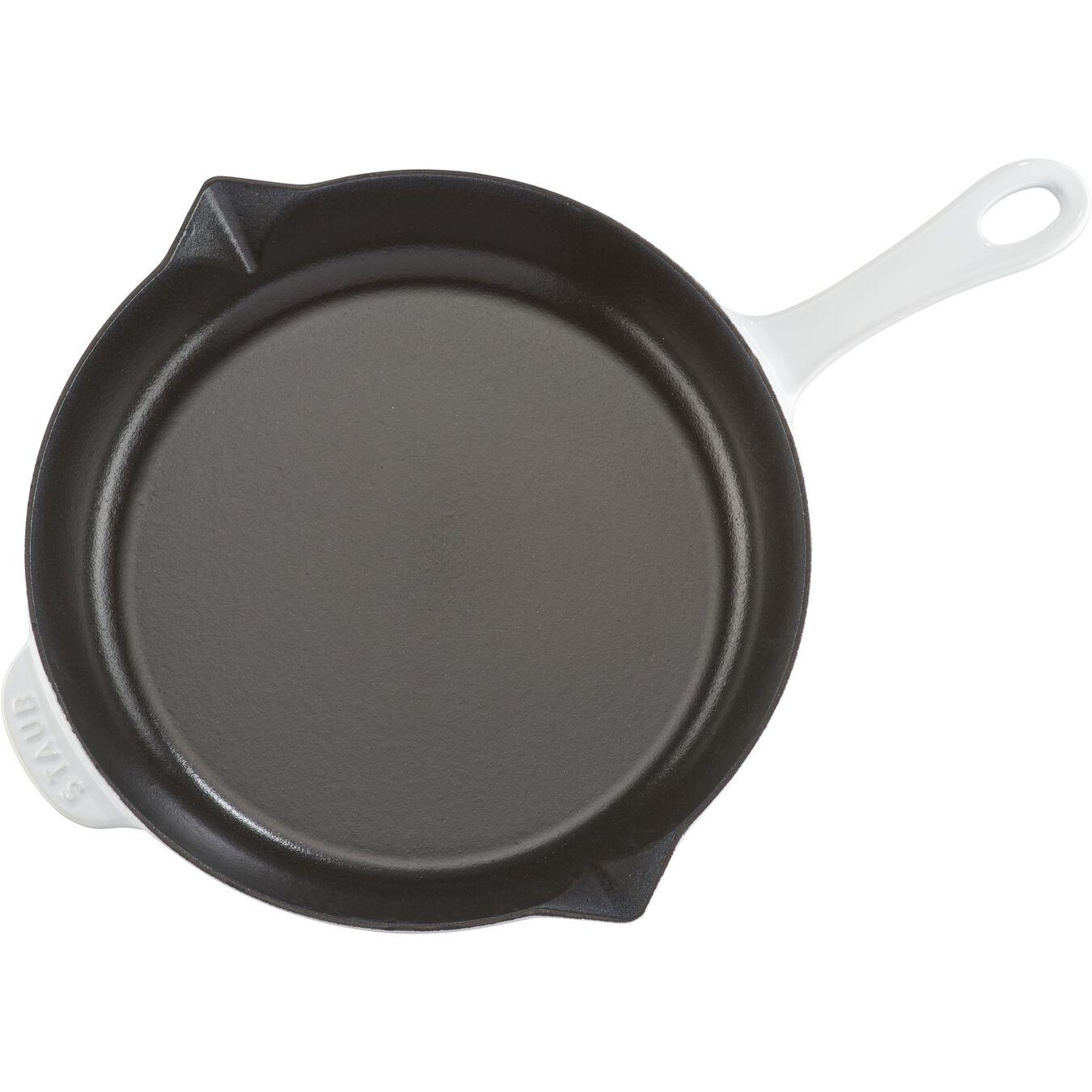 10-inch, Frying pan, white,,large 6