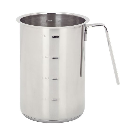 1.2-qt Stainless Steel Tall Saucepan,,large