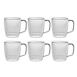 Henckels International Cafe Roma, 6 Piece Double-Wall Coffee Mug Set