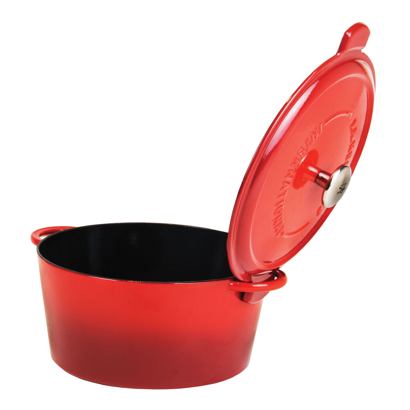 3,75 l round Cocotte, Red,,large 2