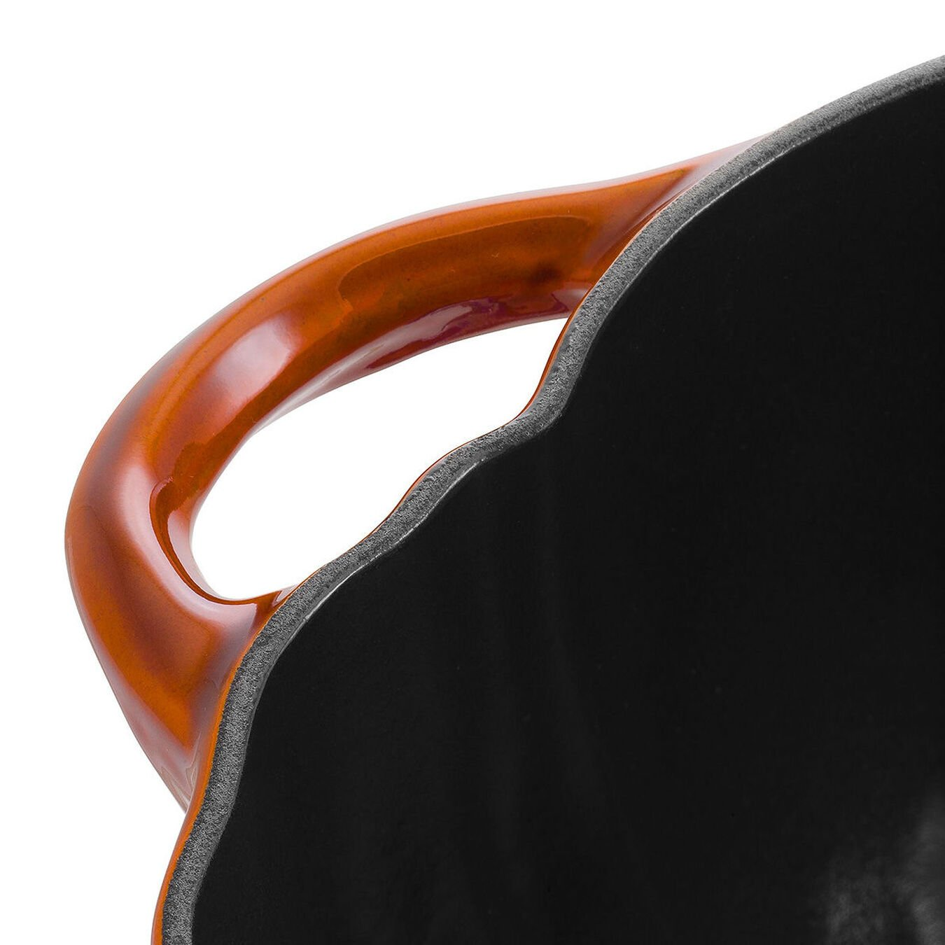 Cocotte 24 cm, Kürbis, Zimt, Gusseisen,,large 5