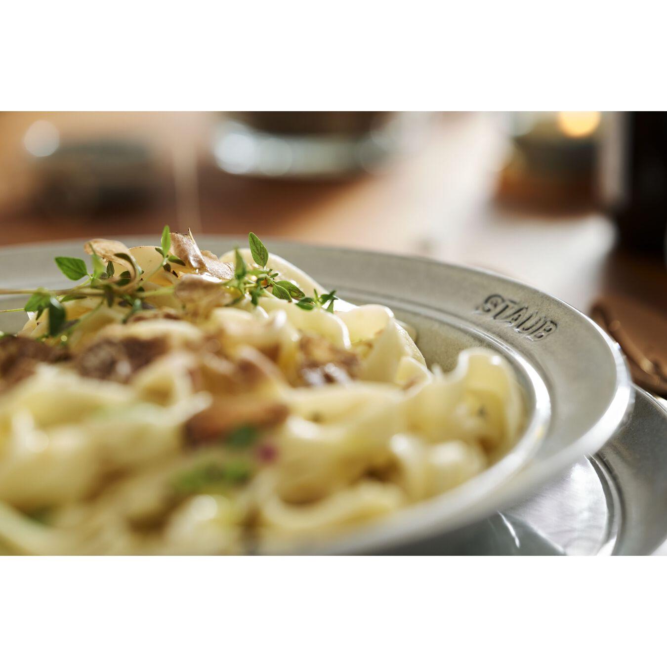 Serving set, 48 Piece | white truffle | ceramic,,large 13