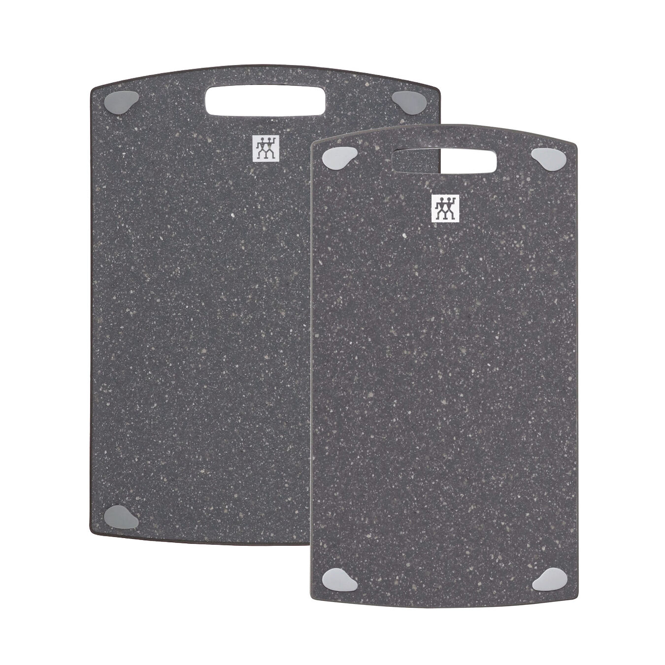 2 pc. Cutting board set, Plastic | 36 cm x 20 cm & 37 cm x 27 cm 36 cm x 20 cm Plastic,,large 1