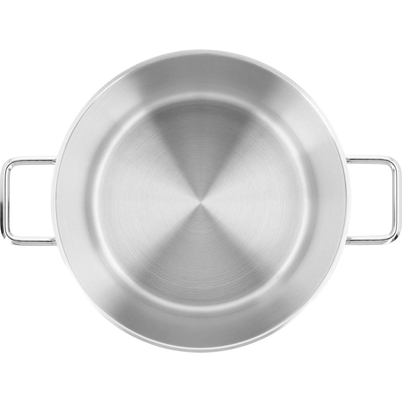 Pentola con coperchio - 30 cm, 18/10 Acciaio inossidabile,,large 3