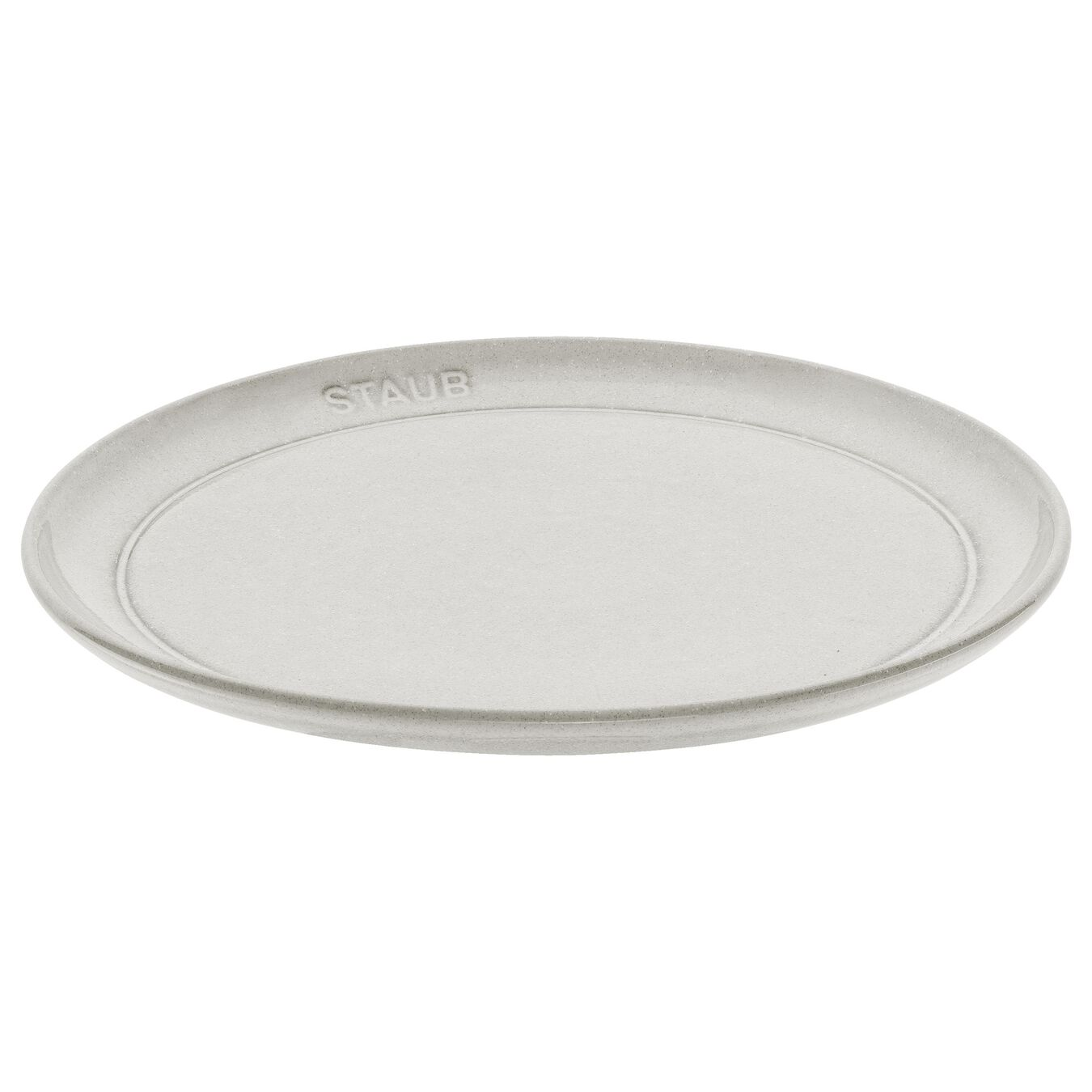 Set d'assiettes à pâtes, 4-pcs   White Truffle   Ceramic   round   Ceramic,,large 1