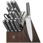 Henckels International Graphite, 20-pc Self-Sharpening Knife Block Set