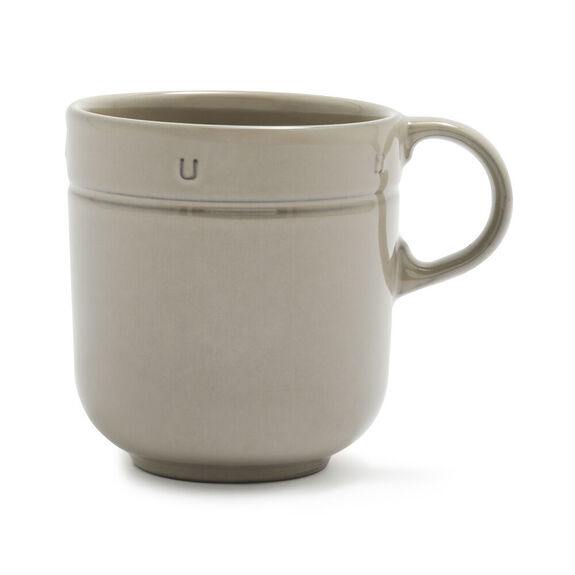 0.5-qt Ceramic Mug 16oz - Graphite,,large