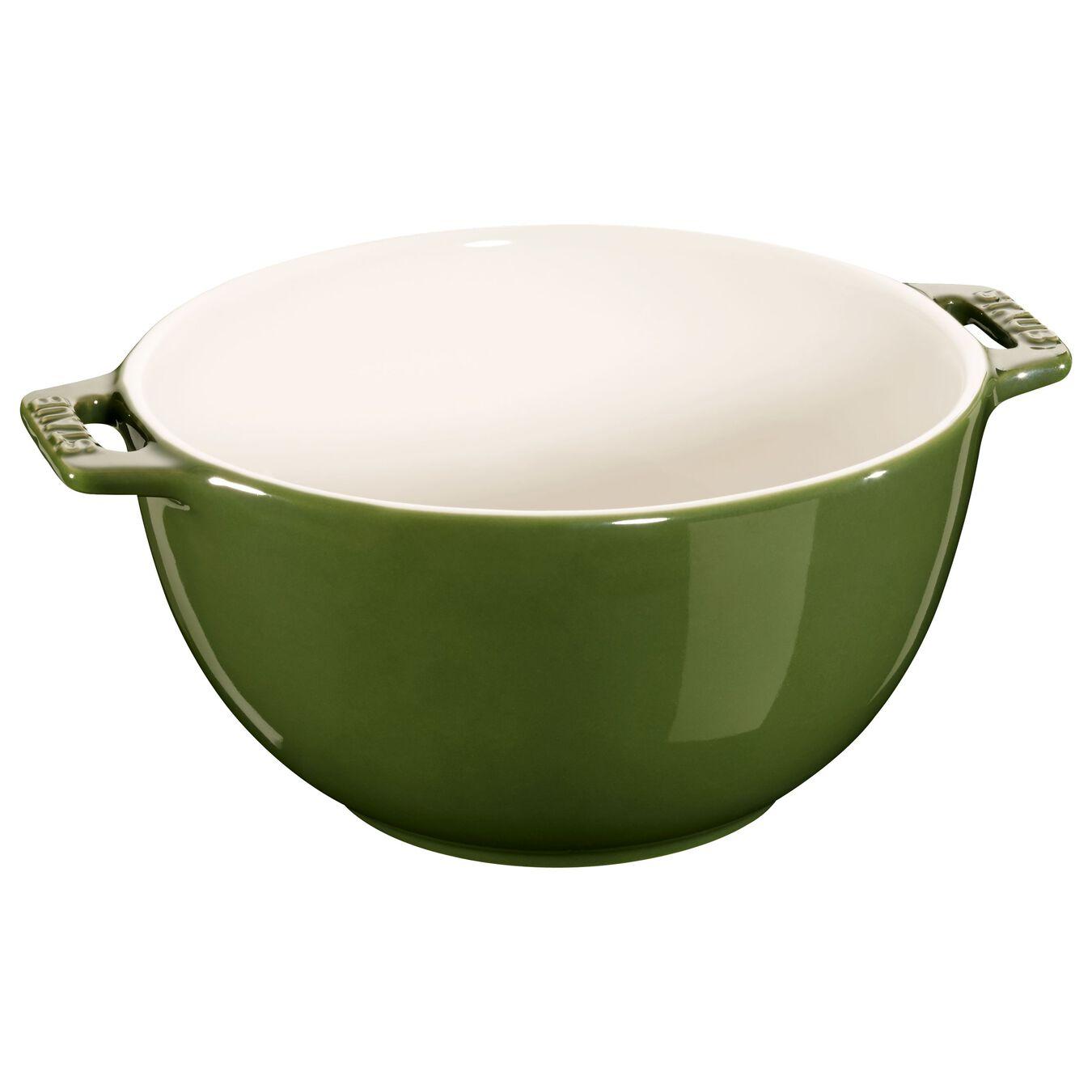 Bowl 18 cm, Cerâmica, verde basil,,large 1