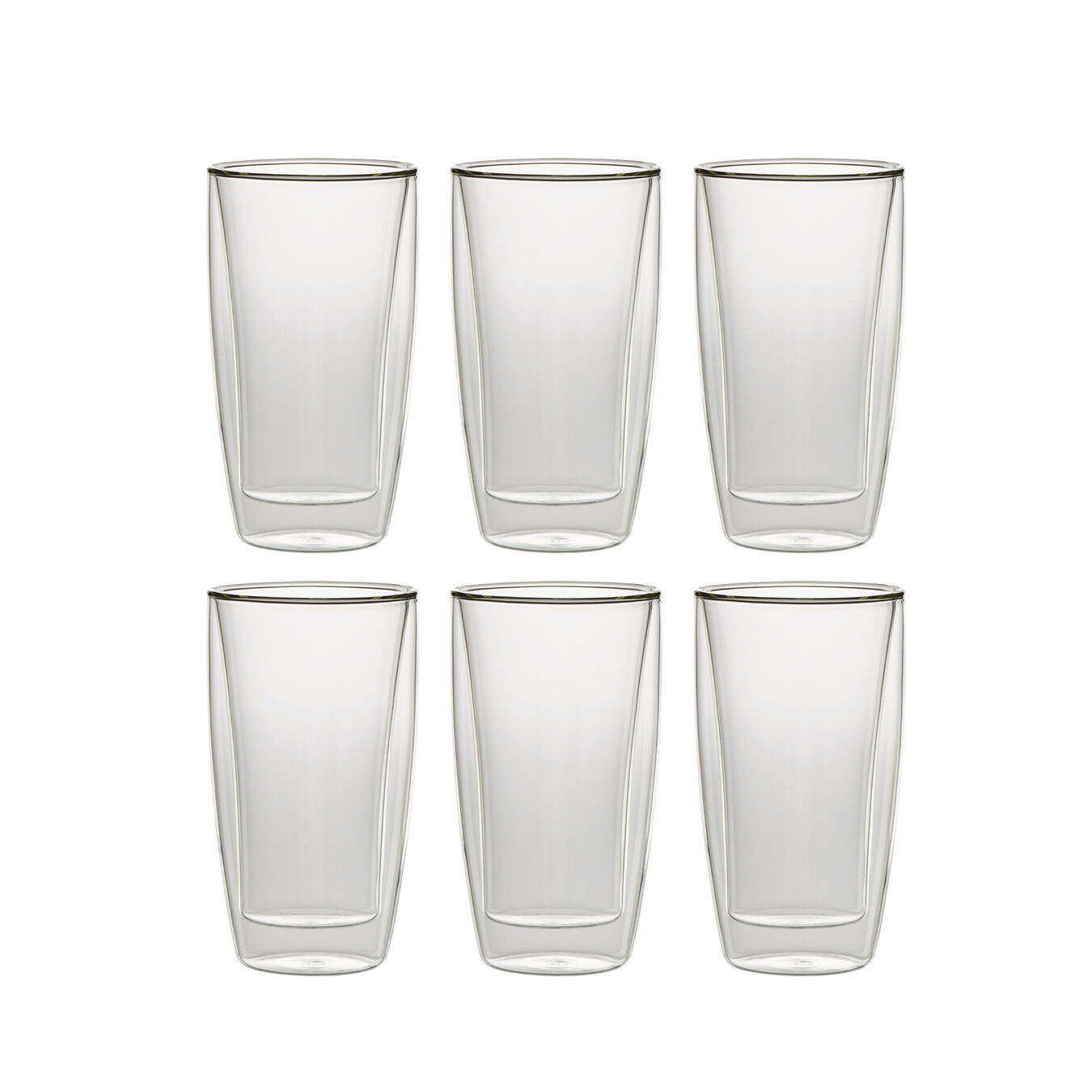 6 Piece Latte glass set,,large 1