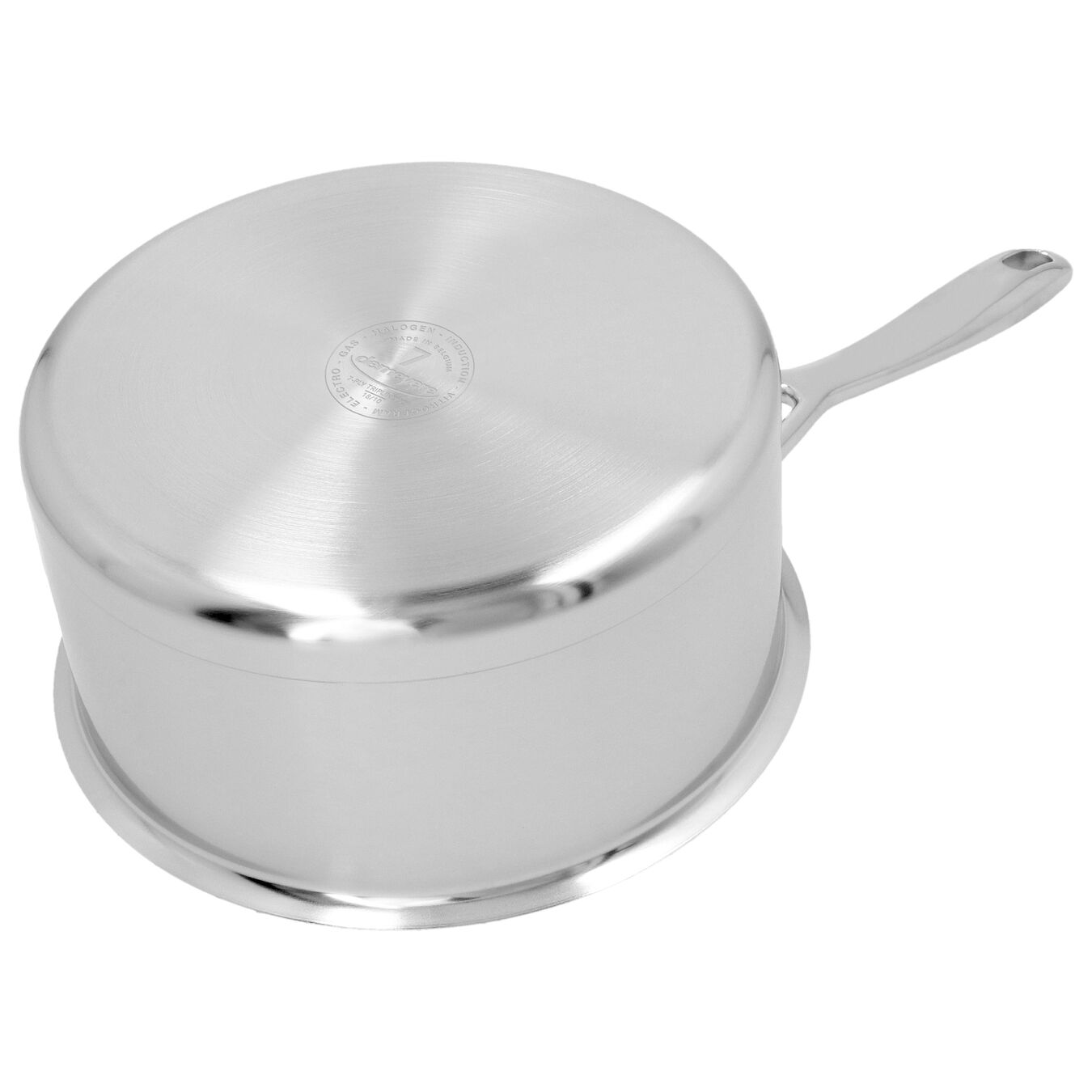 60-oz Sauce pan with double walled lid, 18/10 Stainless Steel ,,large 5