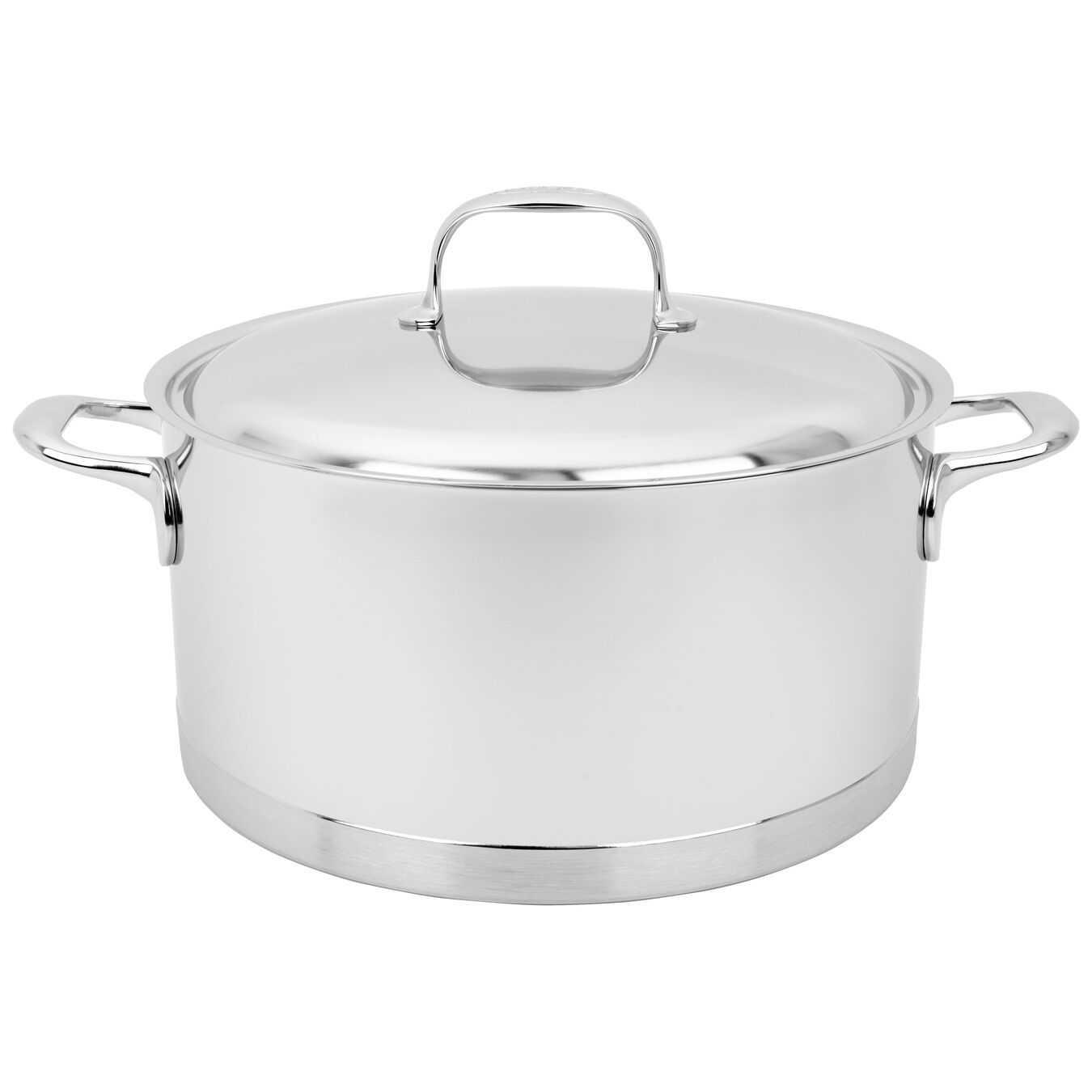 8,5 l 18/10 Stainless Steel Casserole with lid,,large 1