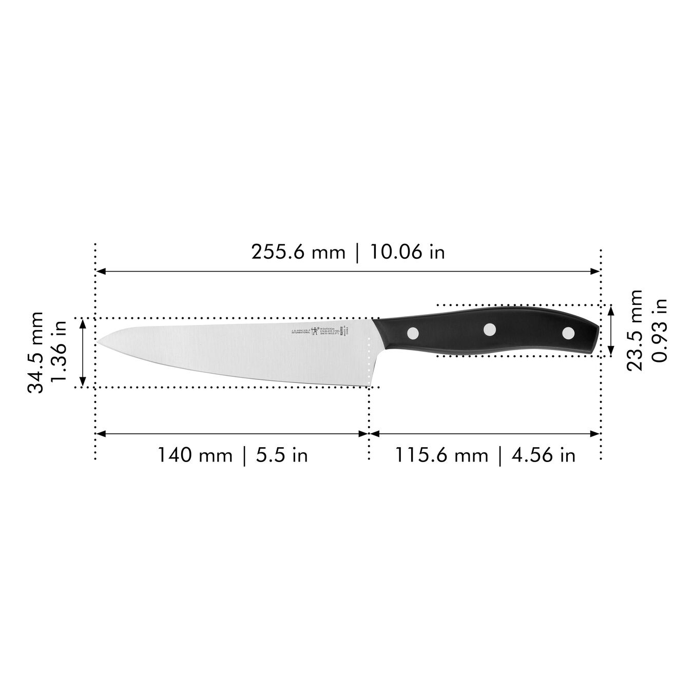 5.5-inch Chef's knife compact, Fine Edge ,,large 2