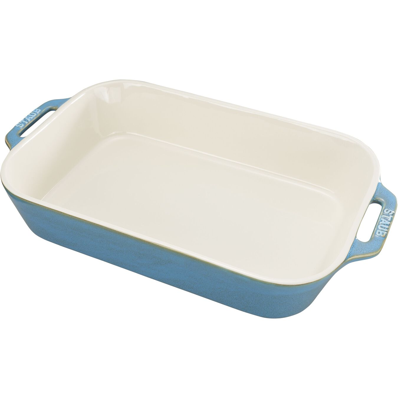 13-x 9-inch, rectangular, Baking Dish, rustic turquoise,,large 1