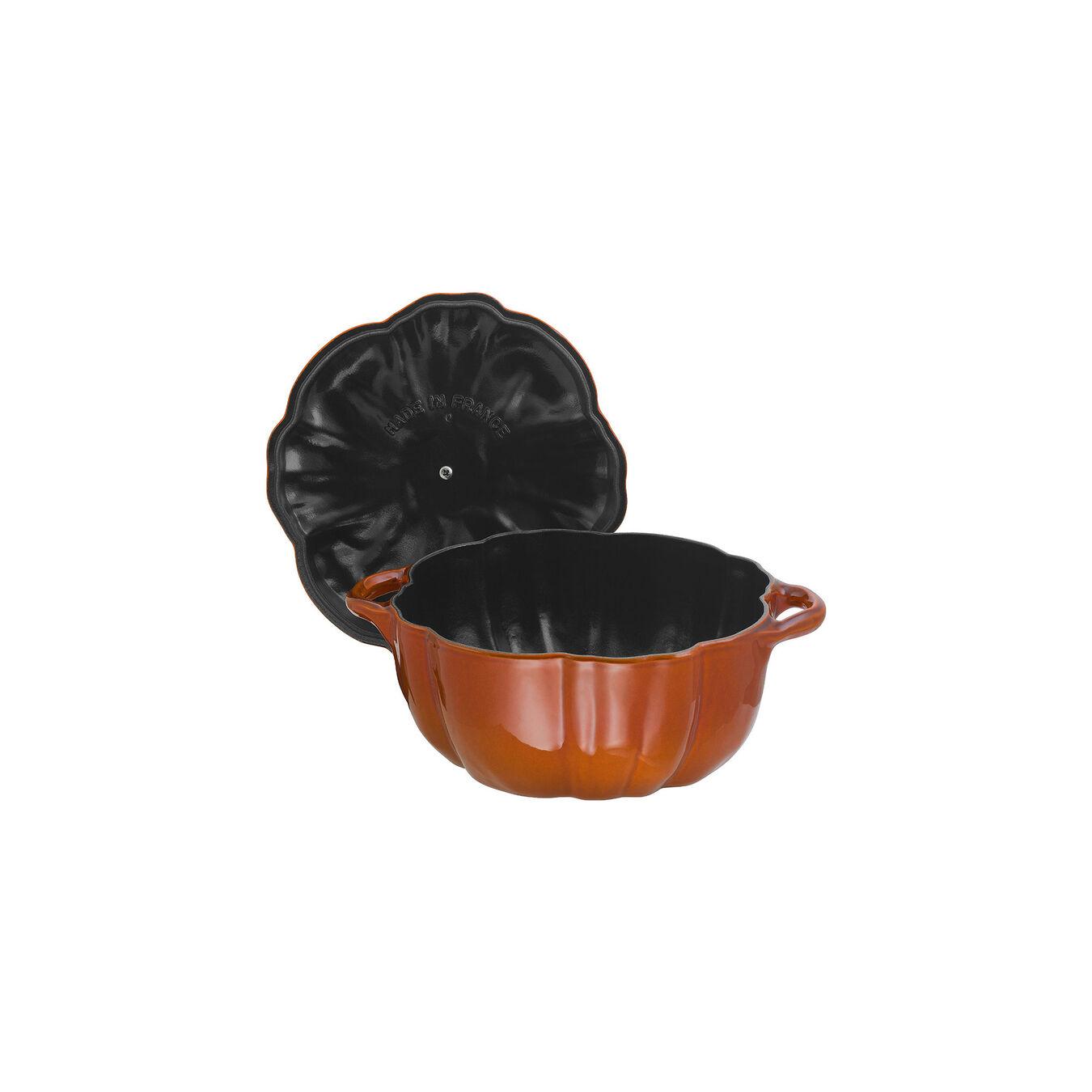 3.5-qt Pumpkin Cocotte - Visual Imperfections - Burnt Orange,,large 6