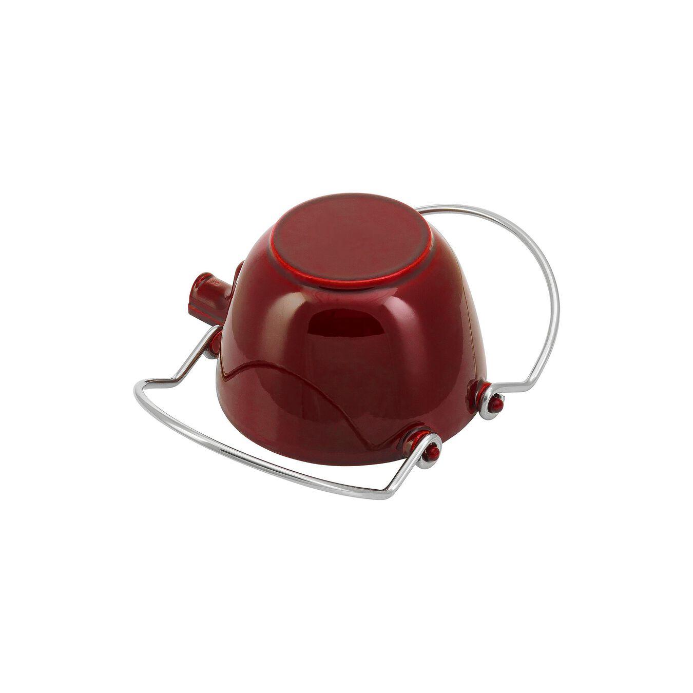 1.25 l Tea pot, grenadine-red,,large 6