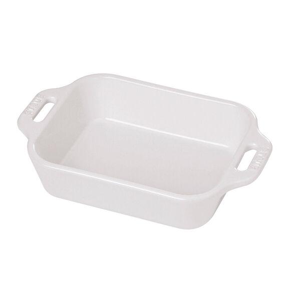Ceramic Special shape bakeware, White,,large