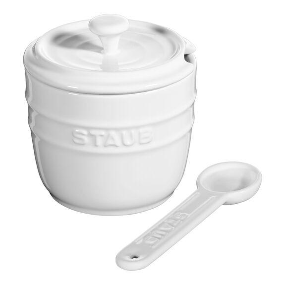 9-cm-/-3.5-inch Ceramic Sugar bowl,,large