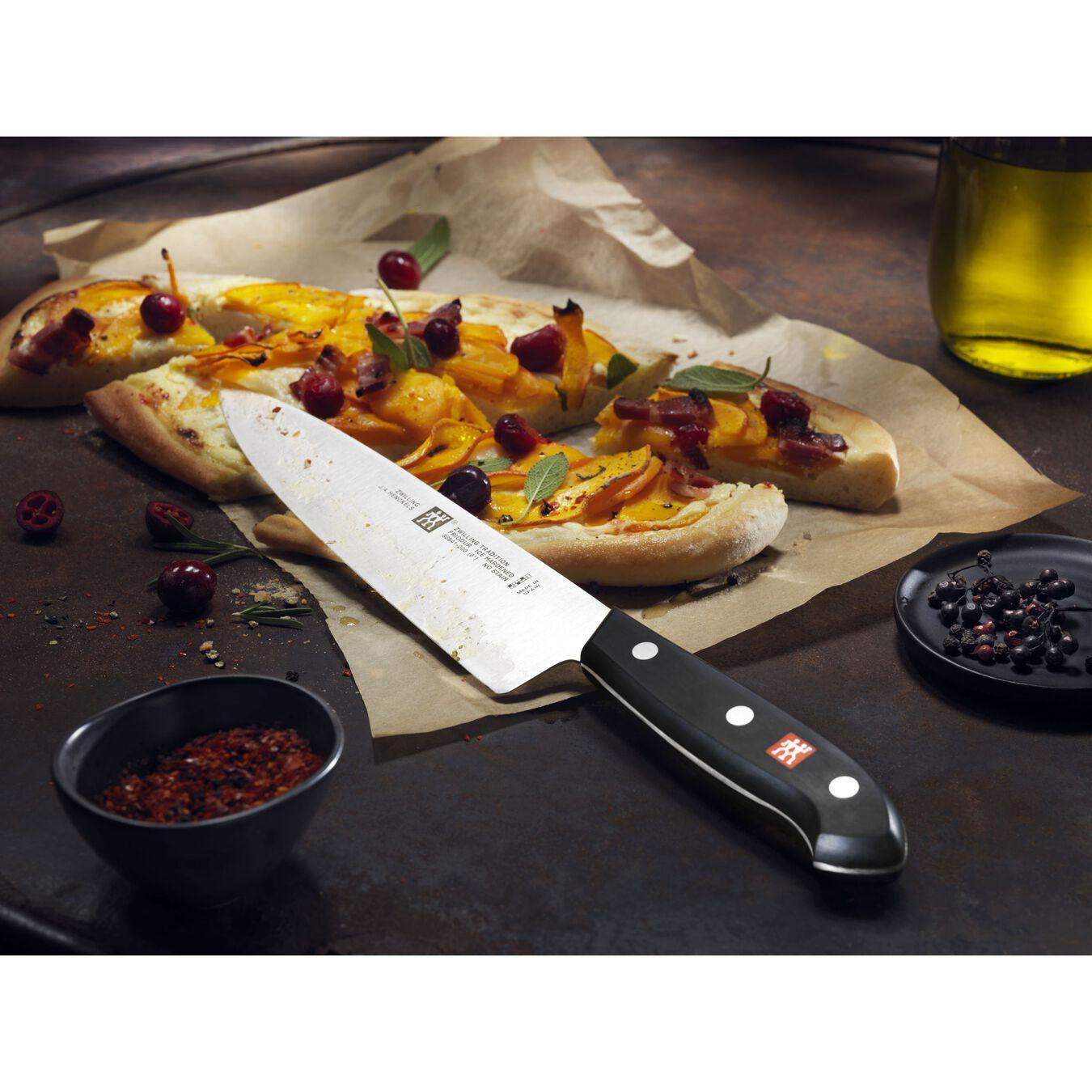 7 Piece KNIFE BLOCK SET WITH BONUS CARVING SET,,large 2