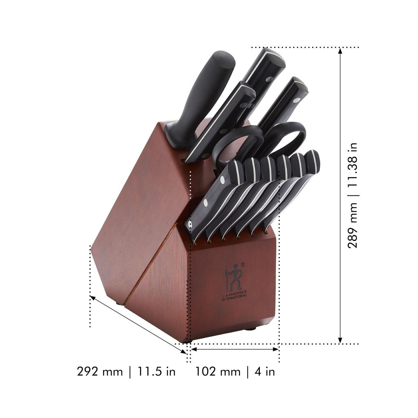 12-pc, Knife block set,,large 2
