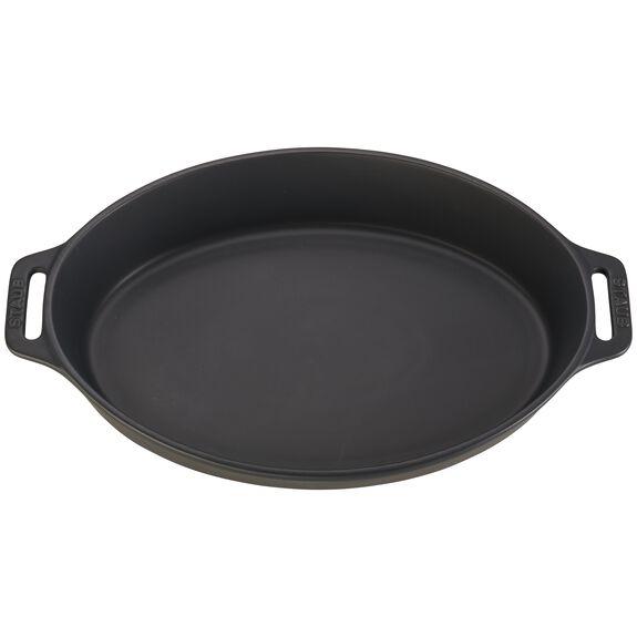 Ceramic Special shape bakeware, Black,,large