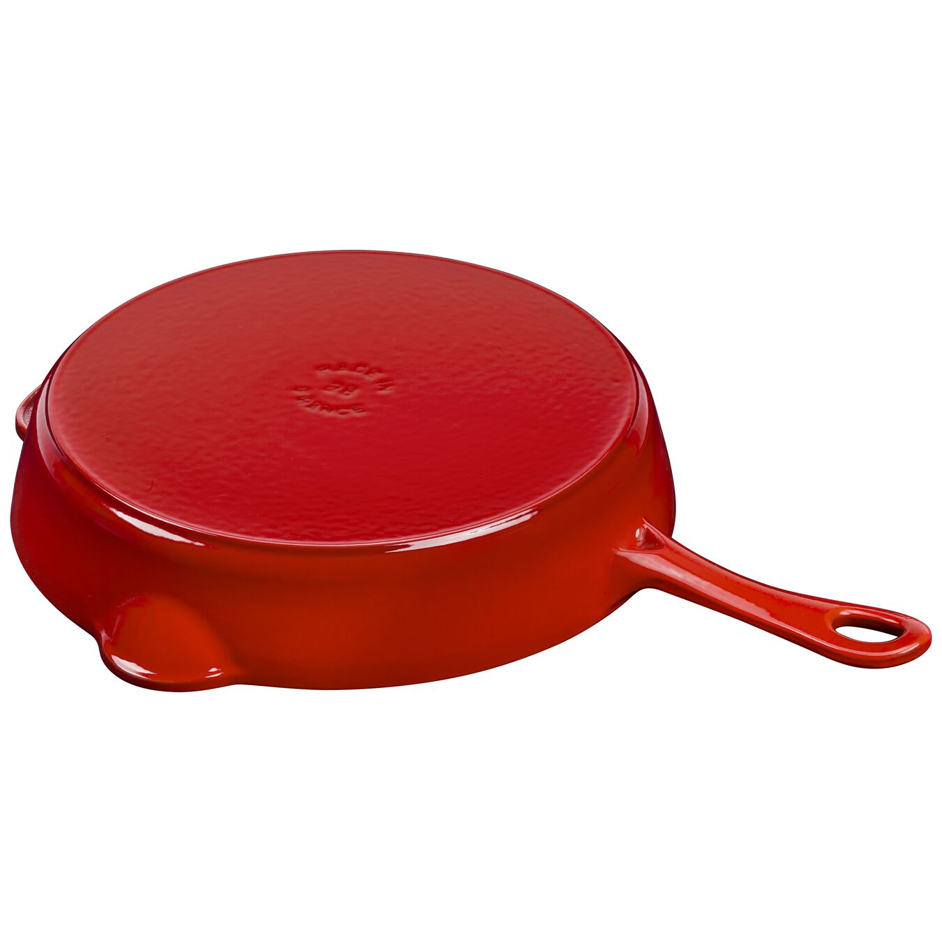 11-inch, Traditional Deep Skillet, cherry,,large 5