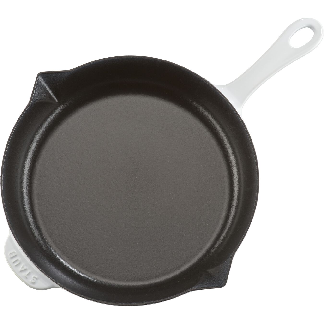 10-inch, Frying pan, white,,large 7