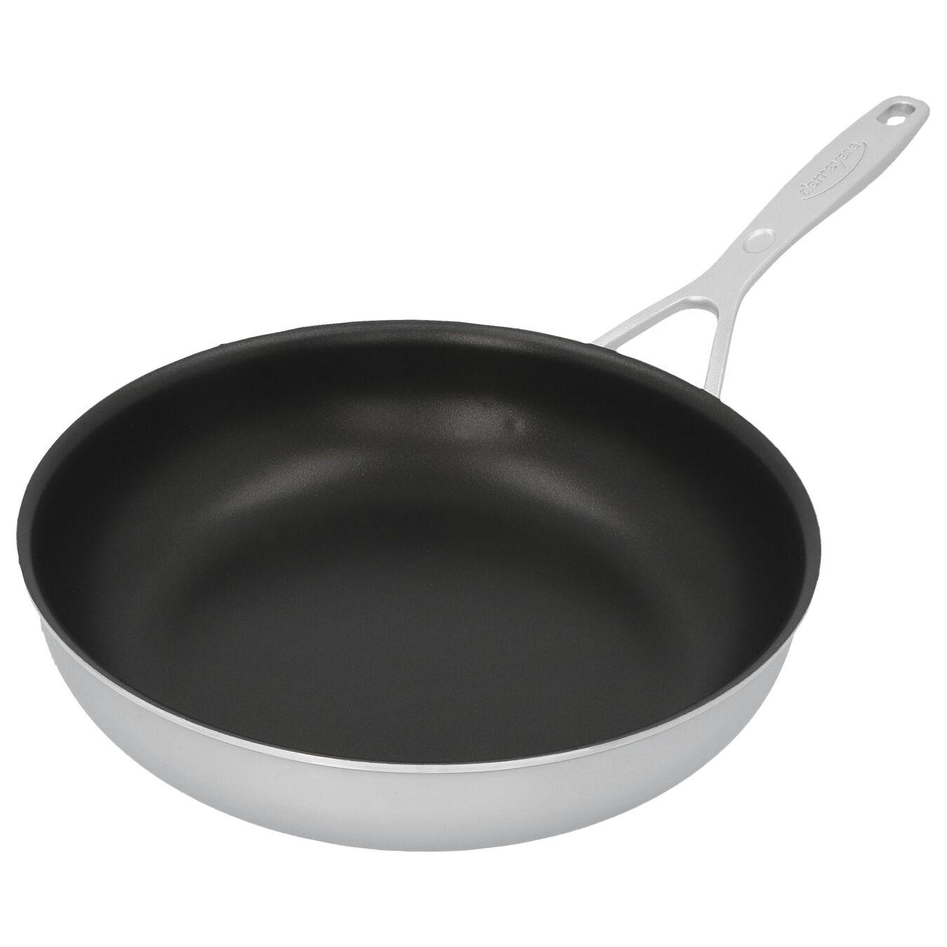 Poêle 24 cm, Inox 18/10, Noir argenté,,large 4