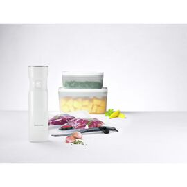 ZWILLING Fresh & Save, Vakuum Starterset, Kunststoff / S/M, 7-tlg, Weiß