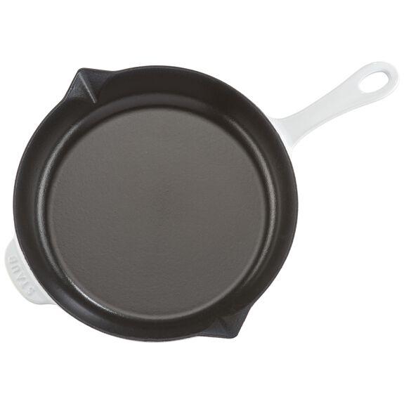 10-inch Fry Pan - White,,large 6
