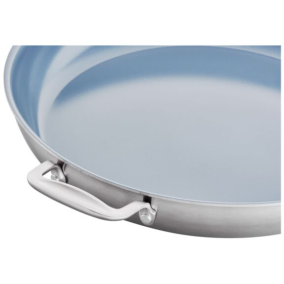 14-inch 18/10 Stainless Steel Frying pan,,large