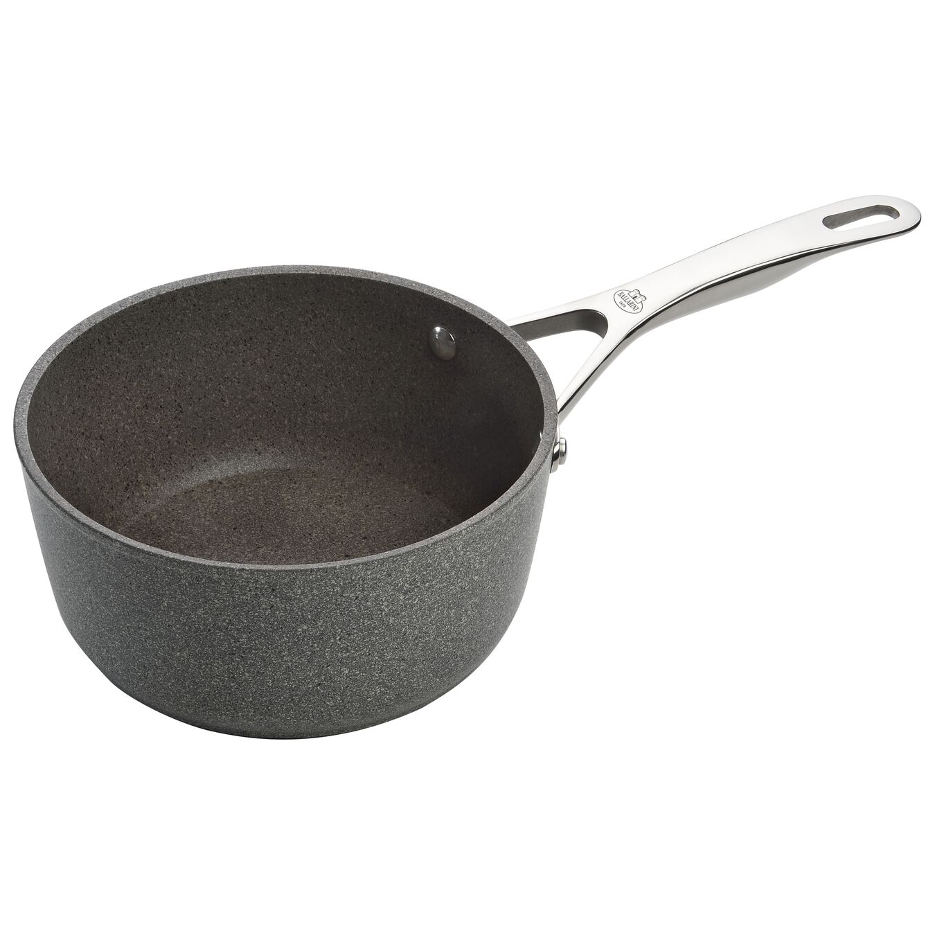 Stieltopf 20 cm, Aluminium, Steinoptik grau,,large 1