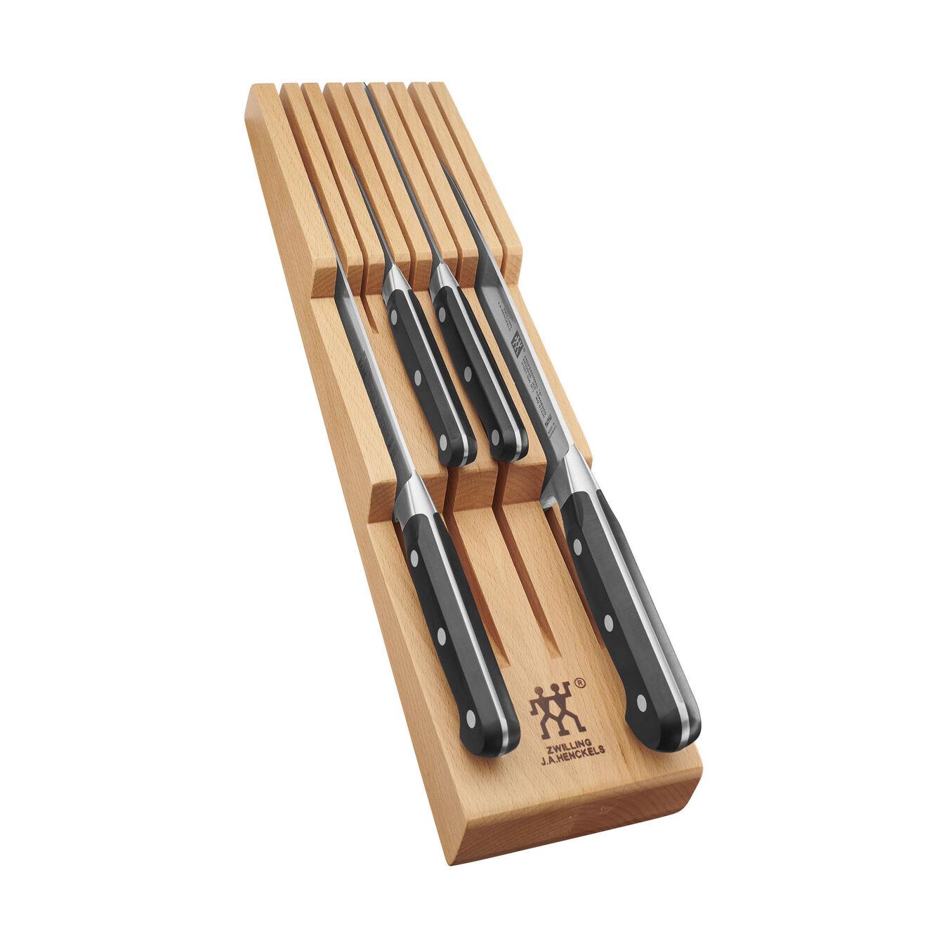 7-pc, Knife block set, Natural,,large 1